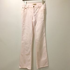 See by Chloe Bootcut Jeans Pink Stretch